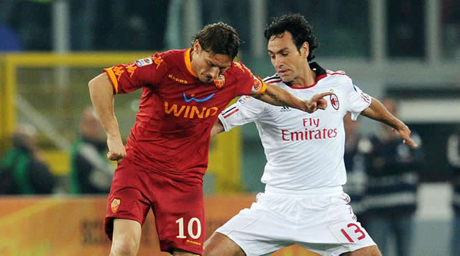 Francesco Totti dan Alessandro Nesta