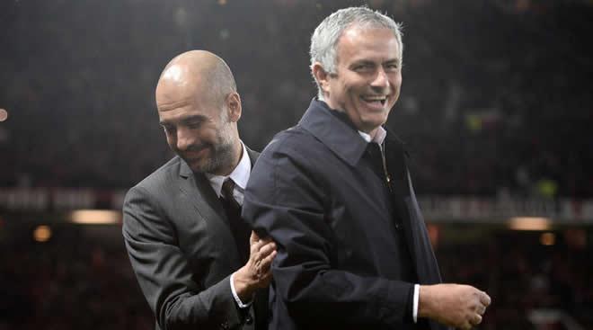 Mourinho dan Pep Guardiola