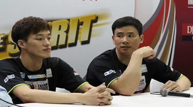 Ko Shung Hyun dan Shin Baek Cheol