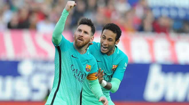 Lionel Messi dan Neymar